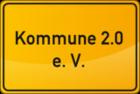 Kommune 2.0 Ortsschild